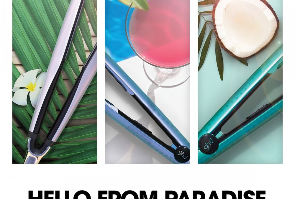 Achieve fabulous holiday hair with New GHD Azores limited edition collection