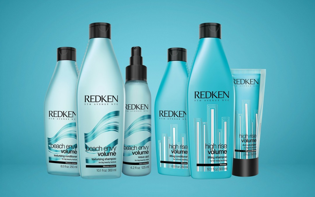New Redken Beach Envy Volume Texturizing Shampoo