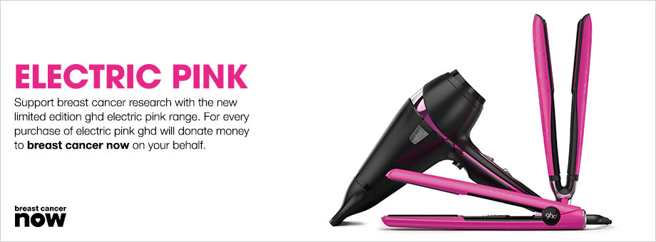 GHD and Elesse Hair and Beauty support BREAST CANCER NOW!