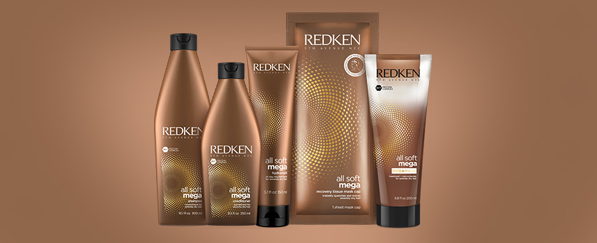 Redken All Soft Mega available at Elesse Hair and Beauty